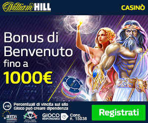 Giochi William Hill per desktop e mobile